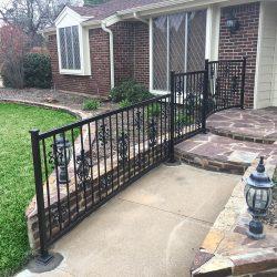 Ornamental Iron Handrail