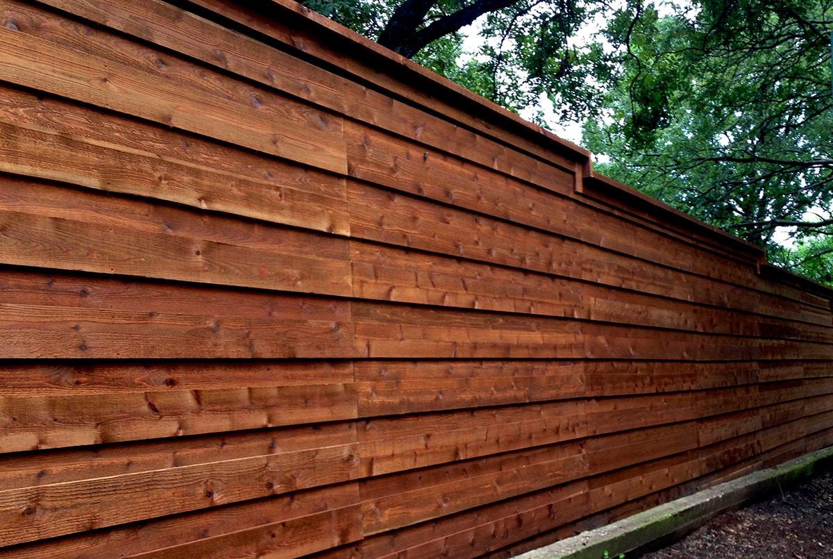Residential Fence Builder Cedar Wood Fences Arlington Tx