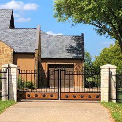 Ornamental Iron Automatic Gate