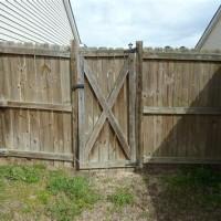 Sagging Wooden Gate
